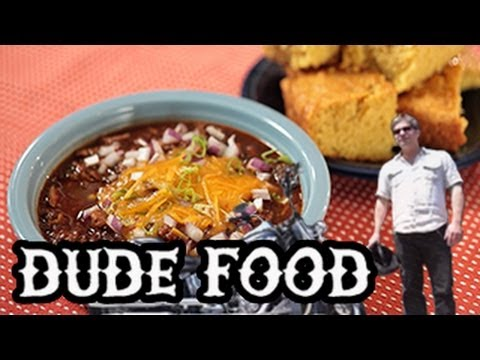 Texas Beef Chili with Cornbread