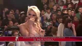 Showmatch 2014 - Duelo de strippers en Showmatch: Peluche VS John