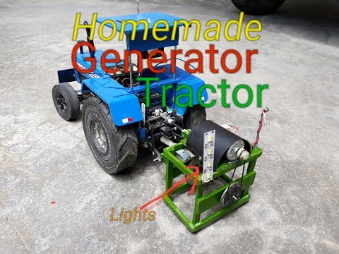 how to make generator with tractor homemade toys free energy