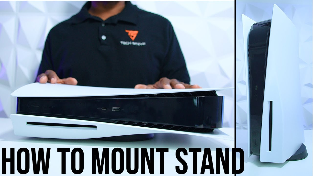 PlayStation 5 Stand Mounting Options