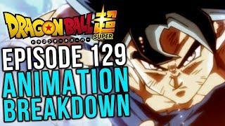 Goku Blanco! Episode 129 Animation Breakdown - Dragon Ball Super
