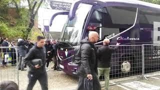 Valladolid - Eibar: Llegada del conjunto armero a Pucela