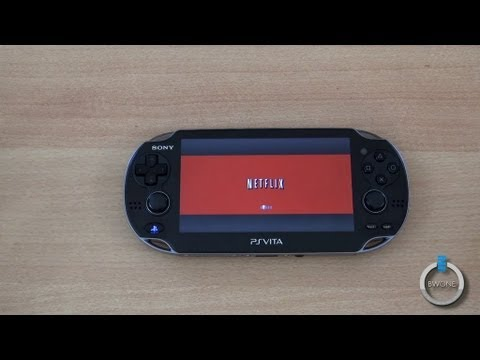 Netflix on the PS Vita  BWOne.com
