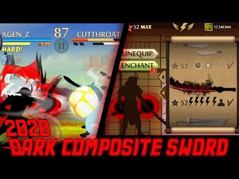 shadow-fight-2-:-the-most-powerful-dark-composite-sword-  「senjata-terkuat-didunia」