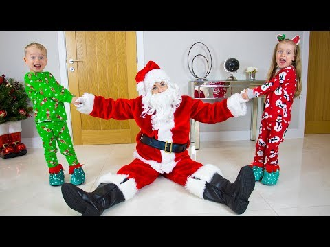 My Santa - Christmas Kids Song From Gaby And Alex (Official Video)
