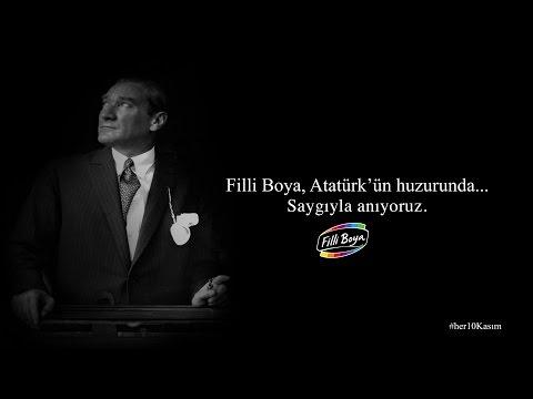 Filli Boya, Atatürk'ün huzurunda.