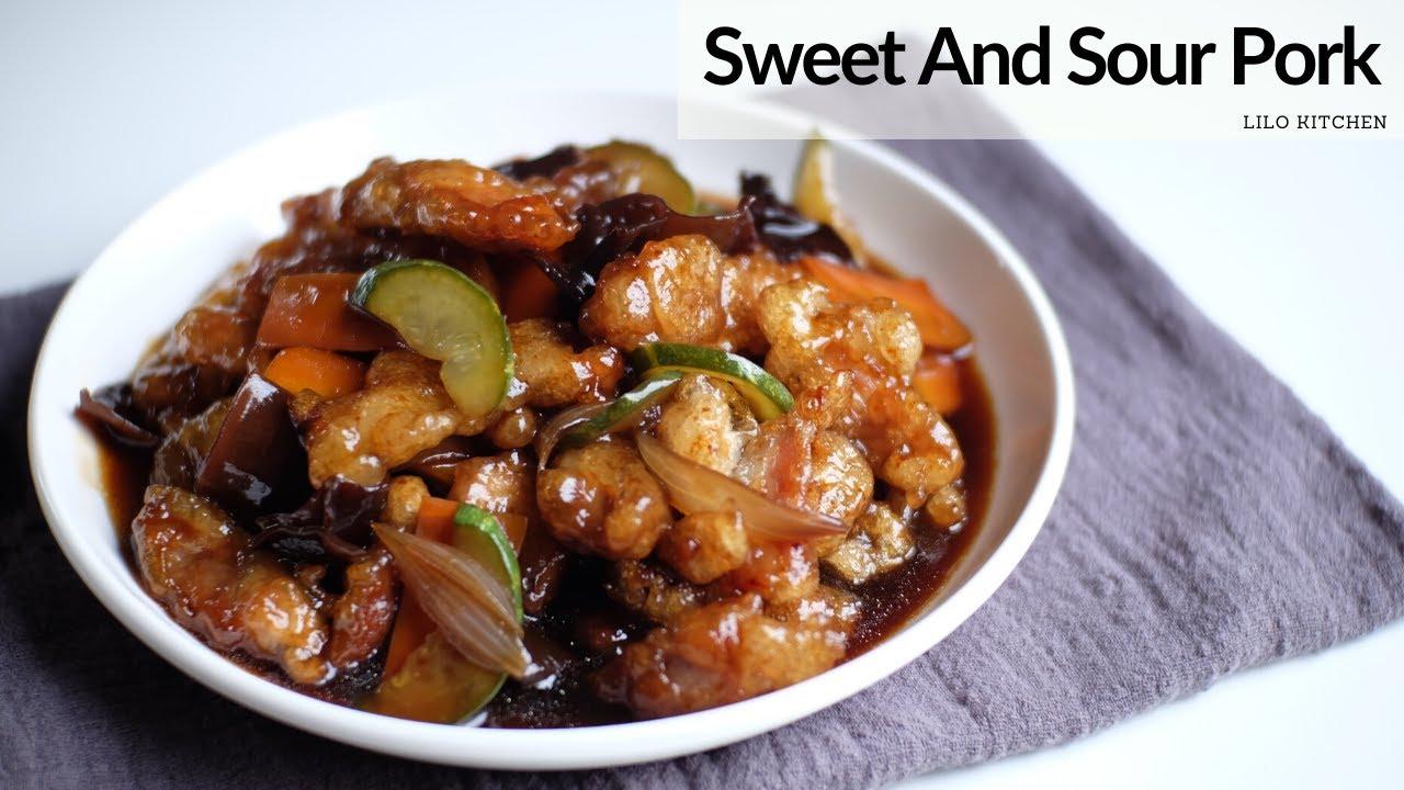 Thịt Heo Sốt Chua Ngọt Hàn Quốc | Sweet And Sour Pork (Tangsuyuk) | Lilo Kitchen