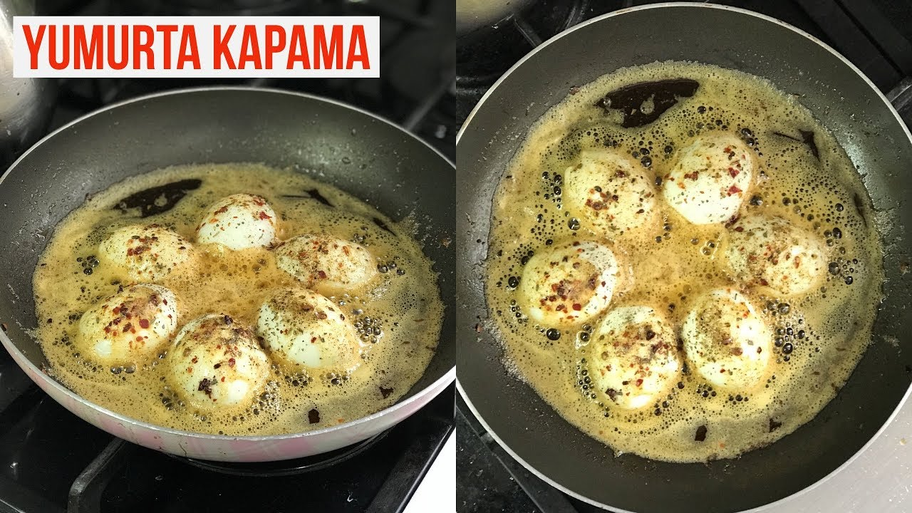 Yumurta Kapama Tarifi