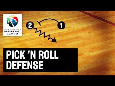 Pick & Roll Defense - Ron Adams  - Basketball Fundamentals