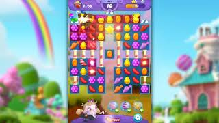 Candy Crush Friends Saga Level 447 - NO BOOSTERS
