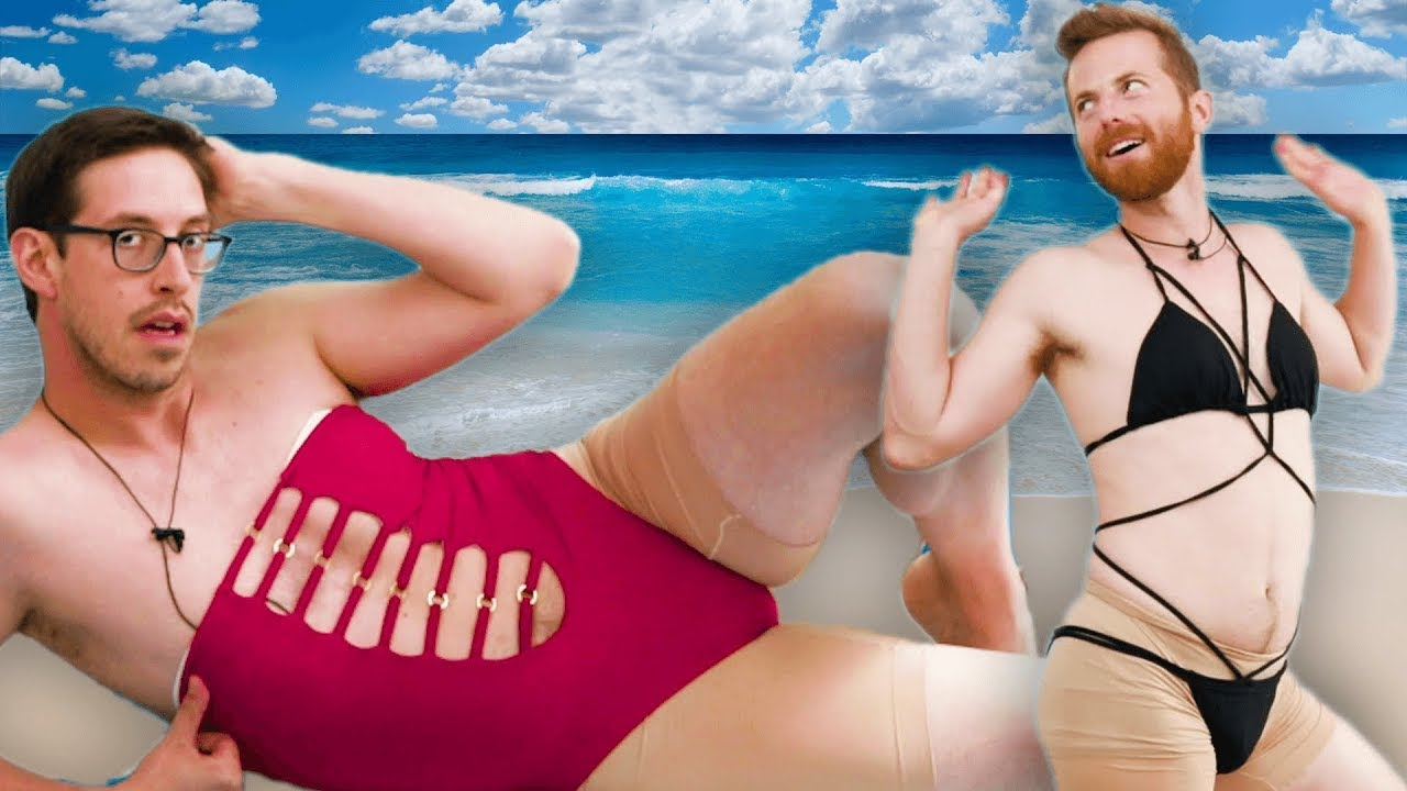 Try Guys Try EXTREME Women's Swimsuits