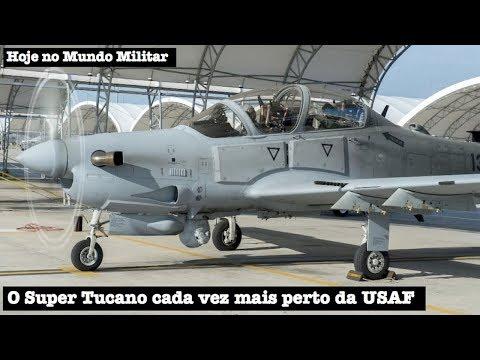 O Super Tucano cada vez mais perto da Força Aérea dos EUA