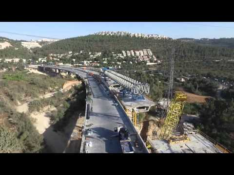 Road 1 Motza Bridge Design-Build. Jerusalem, Israel