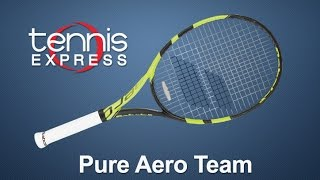 Babolat Pure Aero Team Racquet Review | Tennis Express