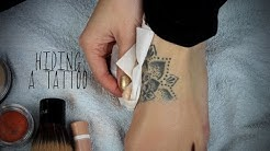 Tattoo Coverup With Drugstore Makeup