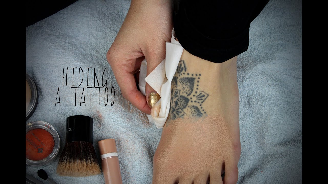 Tattoo Coverup With Drugstore Makeup - YouTube