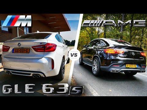 BMW X6 M vs GLE 63 S AMG HEAD to HEAD