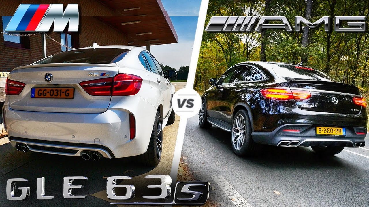 Bmw X6 M Vs Gle 63 S Amg Head To Head Youtube