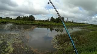 Лето 2020 Рыбачим в деревне Часть вторая