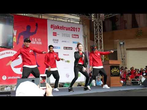 Ayda Jebat - Nakal Nakal Nakal [Jakel Charity Run For Rohibgya 2017]