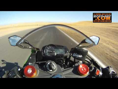 Essai Nouvelle Kawasaki ZX-6R 636 Modèle 2013