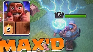 LVL 5 GEM TO MAX!! | BATTLE MACHINE | Clash of clans