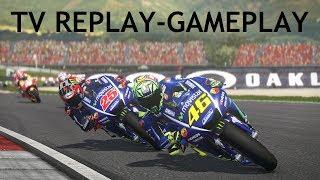 MotoGP 17 | TV REPLAY CAM | Fight ROSSI vs VINALES | MUGELLO | gameplay