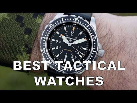 The 10 Best Tactical Watches And Military Watches For Edc
