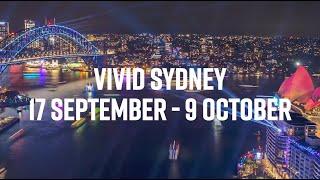 Vivid Sydney returns 17 September - 9 October 2021 | Explore the Program
