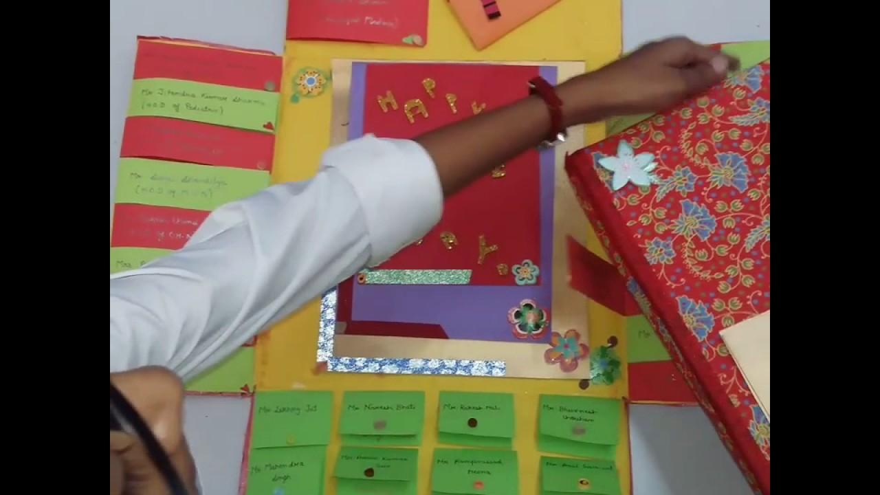 handmade teachers day invitation cardsimple nd easy
