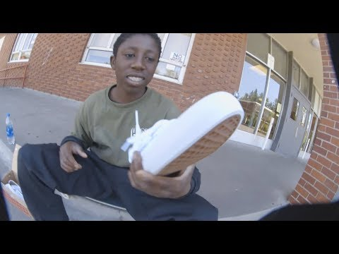 100 Kickflips In The Vans Authentic Pro With Kader Sylla