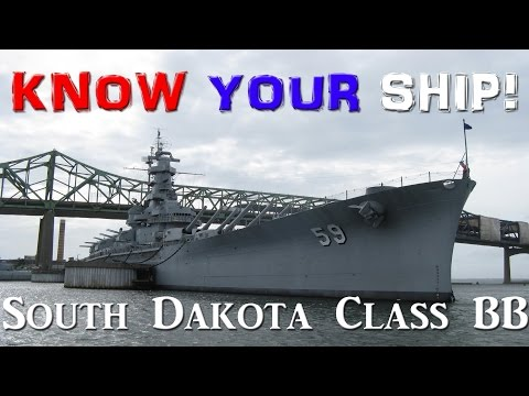 World of Warships - Know Your Ship #26 - South Dakota Class Battleship