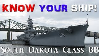 World of Warships - Know Your Ship! - South Dakota Class Battleship