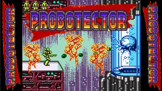 PROBOTECTOR DX (Operation C HACK) (Unl) - Game Boy Color Longplay - NO DEATH (Complete Walkthrough)
