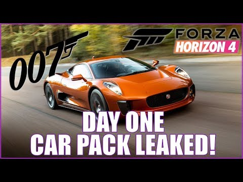Is This the Day One Car Pack? NEW FORZA HORIZON 4 LEAK!!!