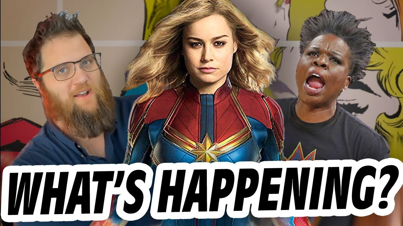 why people hate captain marvel - what's really happening with brie