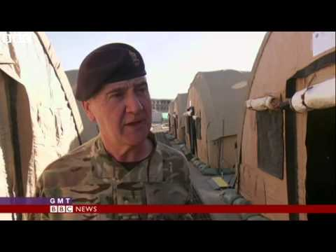 BBC News Officer training based on Sandhurst launched in Kabul