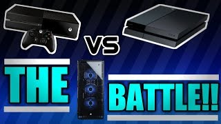 The Battle: PC vs Console | Which one is the best? | Which One is best for you?