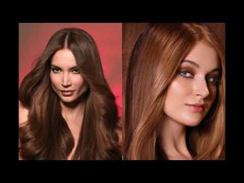 Шоколадный цвет волос модный в 2018