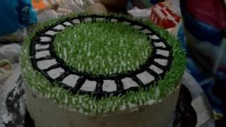 Tutorial Membuat Hiasan Rumput Kue Ulang Tahun