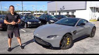 Is the 2019 Aston Martin Vantage a BETTER sports car than a Porsche 911?