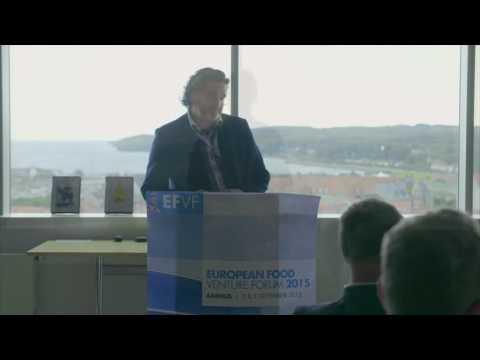 Vinderne af European Food Venture Forum 2015