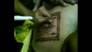 munee suttho四面佛 (four face god tattoo at m'sia.mp4)