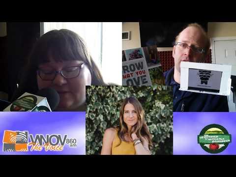 Emily Murphy interview only The Wisconsin Vegetable Gardener Radio show S2