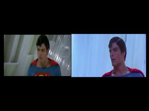Superman 2 vs Donner Cut Comparision - Superman beats Zod Mp3