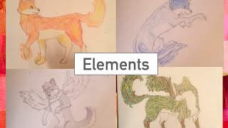Wolf Drawings | Elements