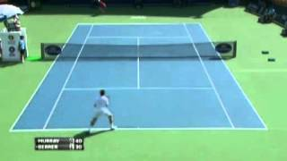 Greatest LOB in Tennis History By Andy Murray