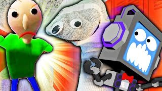 SOCK SAVED ME!!! Best Baldi's Basics Run EVER! Secret Ending + Game Crash thumbnail