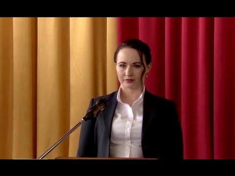 В Усть-Илимске прошла инаугурация мэра города Анны Щёкиной