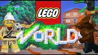 A world full of Minotaurs / Lego Worlds part 1